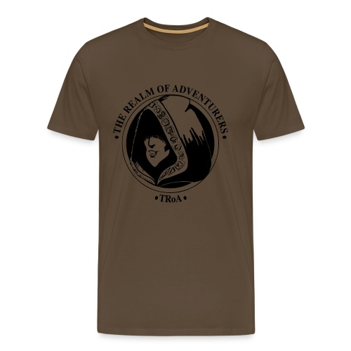 TRoA Logo Sort - Herre premium T-shirt