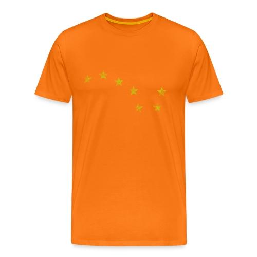 starry plough grunge - Men's Premium T-Shirt