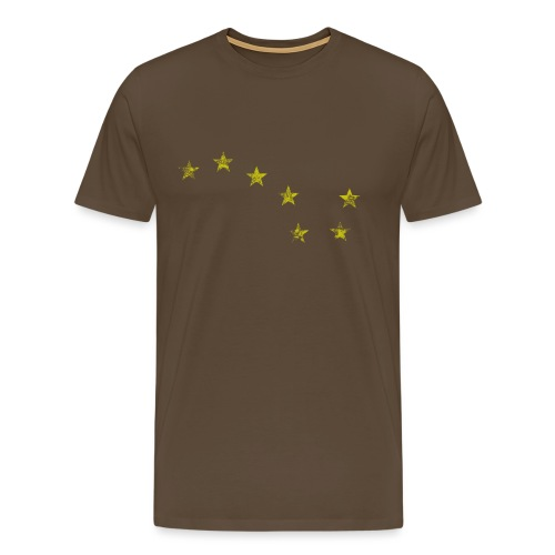 starry plough grunge - Men's Premium T-Shirt