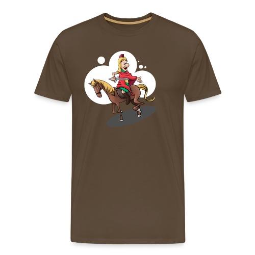 Sankt Martin auf dem Pferd - Männer Premium T-Shirt