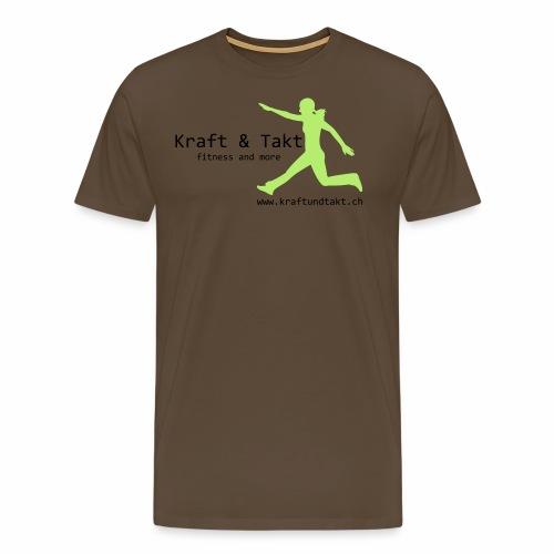 Kraft und Takt - Männer Premium T-Shirt