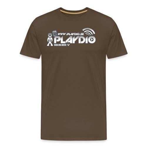 Playdio Mik och Blå yterglöd - Premium-T-shirt herr
