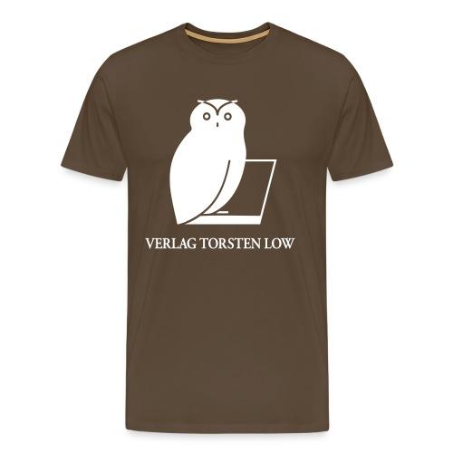 logo spreadshirt invertiert grosse fonts - Männer Premium T-Shirt