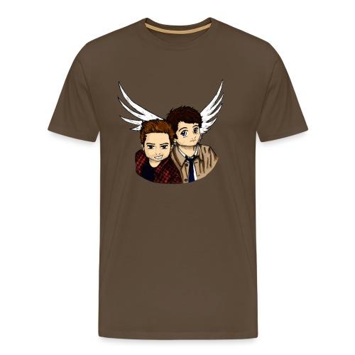 Destiel i farver - Herre premium T-shirt