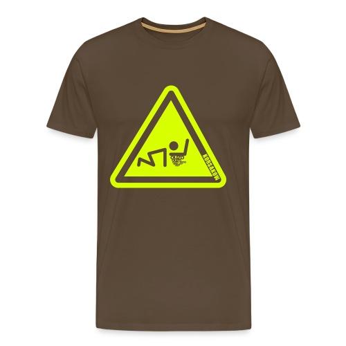 korsakow ouzo sign - Männer Premium T-Shirt