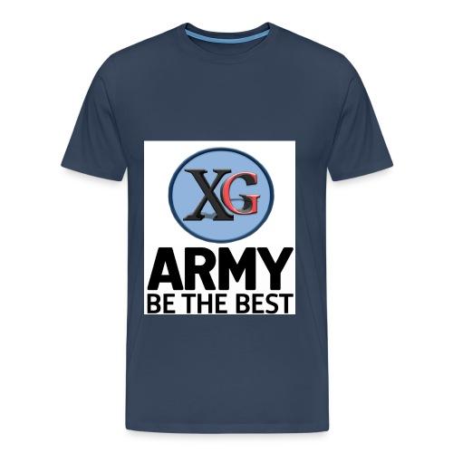 xg-logo-army - Men's Premium T-Shirt