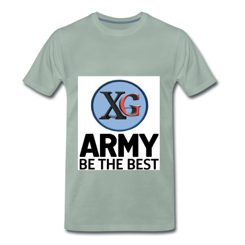 xg-logo-army - Men's Premium T-Shirt