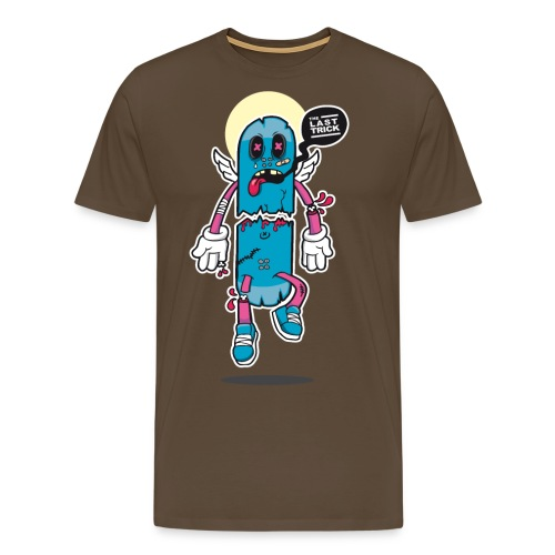 the last skateboard trick - Men's Premium T-Shirt