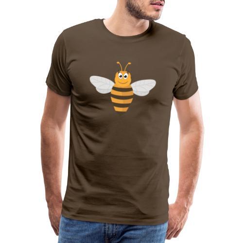 Vrolijke honingbij - Mannen Premium T-shirt