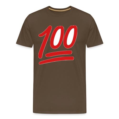 100 - Mannen Premium T-shirt