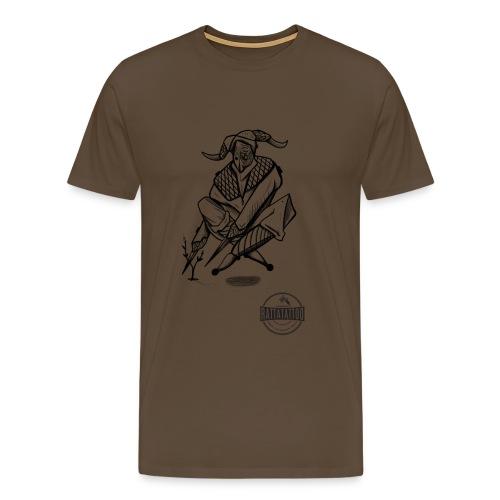 Tattoo Design / tattoo studio / RattatattooZwolle - Mannen Premium T-shirt