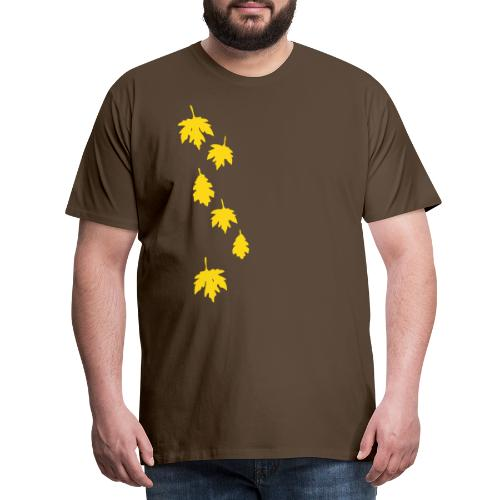 Herbstlaub - Männer Premium T-Shirt