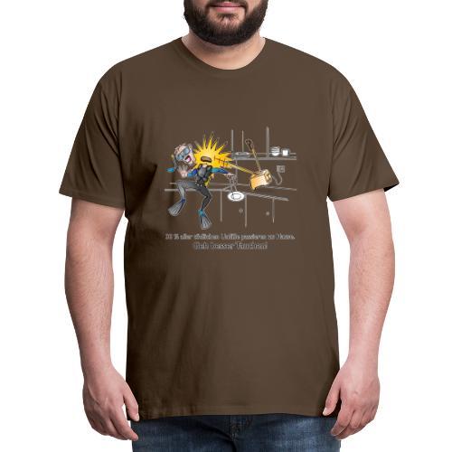 Toaster-Taucher - Männer Premium T-Shirt