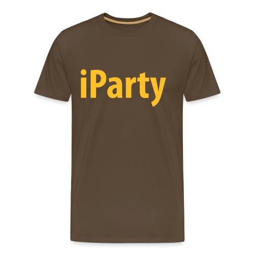 iParty - Männer Premium T-Shirt