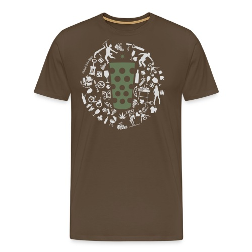 Michl-gruen - Männer Premium T-Shirt