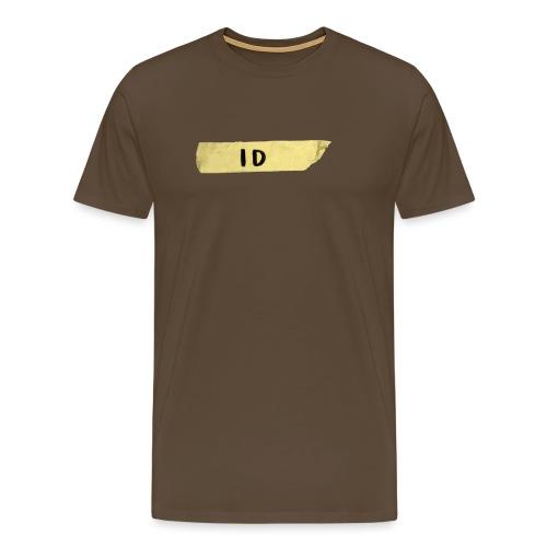 Tejp ID - Premium-T-shirt herr