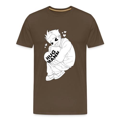 hug mann bigversion png - Men's Premium T-Shirt