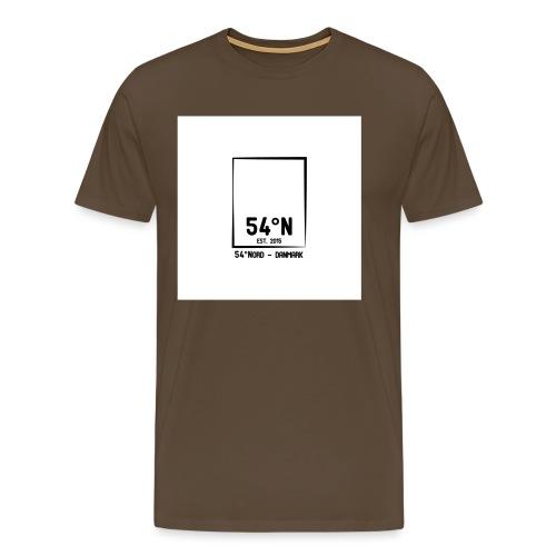 54°Nord square t-shirt edt.4 - Herre premium T-shirt