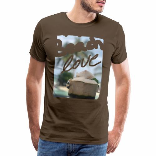 Beach Love & Coco - Männer Premium T-Shirt