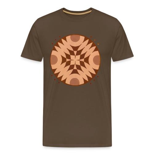 Crop circle ou cercle de culture du 18/07/2011 - T-shirt Premium Homme