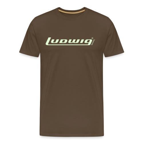 Ludwig70er-Schriftzug - Männer Premium T-Shirt
