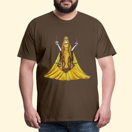 La Justice toute d'or vêtue - T-shirt Premium Homme