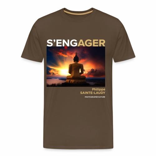 1 Achat = 1 Don à l'association Coeur de forêt - T-shirt Premium Homme
