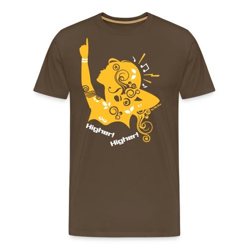 Higher - Camiseta premium hombre