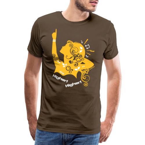 Higher - Men's Premium T-Shirt