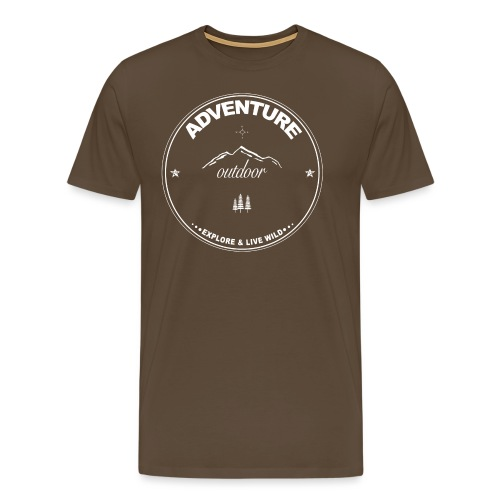 Adventure - Outdoor - Männer Premium T-Shirt