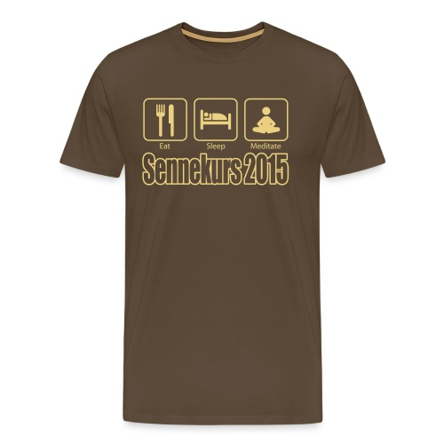 Sennekurs 2015 - Männer Premium T-Shirt
