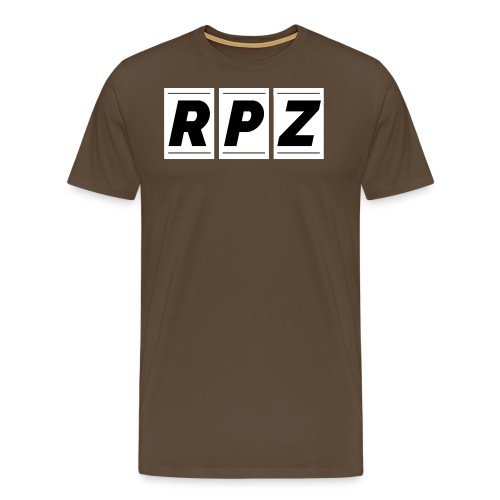 RPZ Hoodie Schwarz - Männer Premium T-Shirt