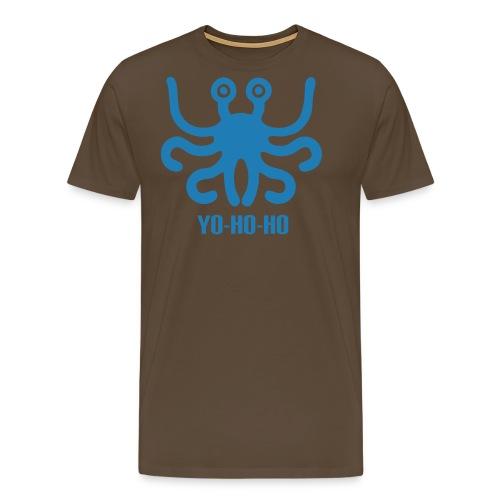 pastafarianism tshirt yohoho - Mannen Premium T-shirt