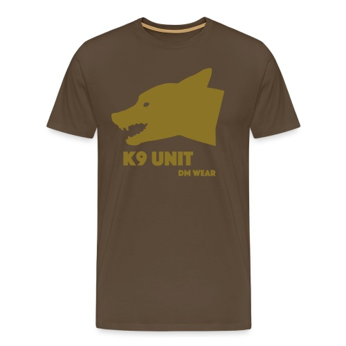dm wear K9 unit yellow - Men's Premium T-Shirt