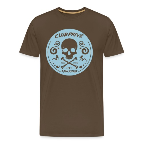 club_skull_big - Männer Premium T-Shirt