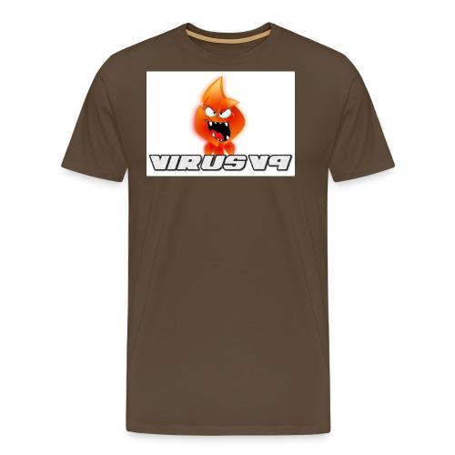 Virusv9 Weiss - Männer Premium T-Shirt
