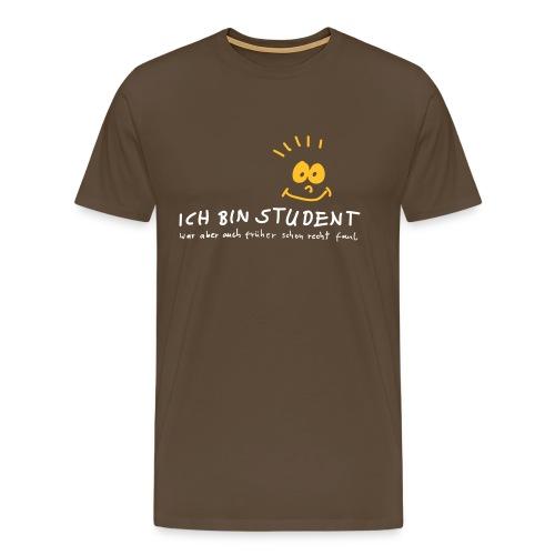 ich bin Student - Männer Premium T-Shirt