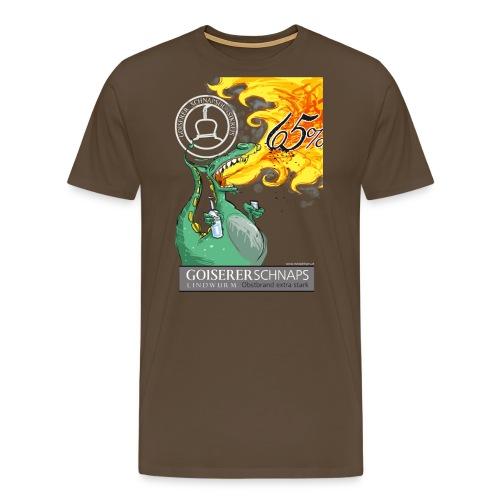 schnapslindwurmtshirt - Männer Premium T-Shirt