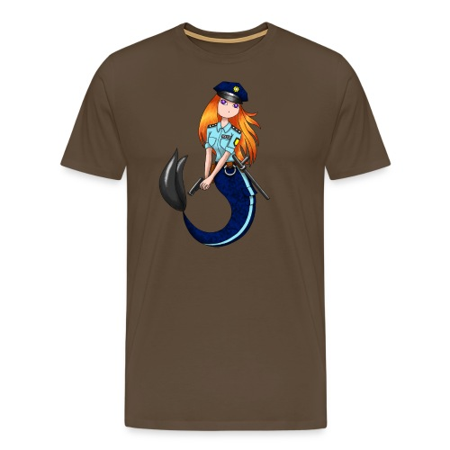 Meerjungfrau Polizistin - Männer Premium T-Shirt