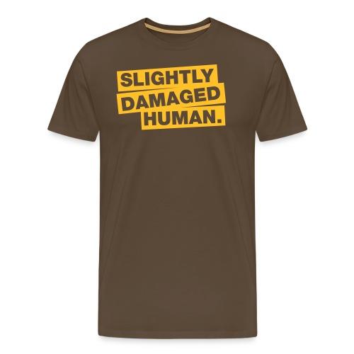 slightly damaged human - Männer Premium T-Shirt