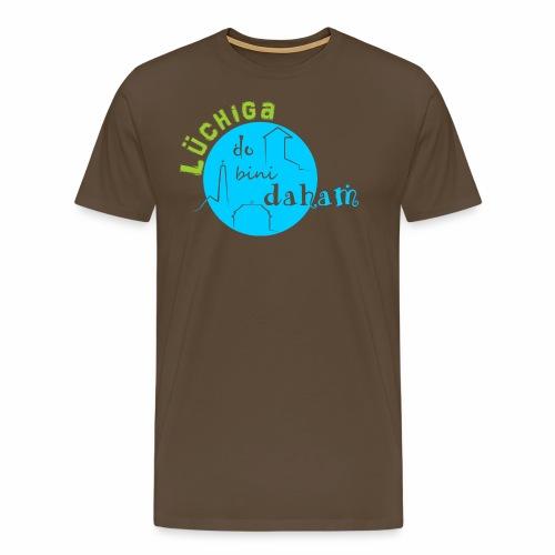 KreisTuerkisgruen - Männer Premium T-Shirt
