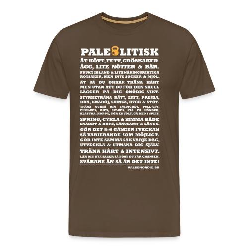 paleolitiskt vit - Premium-T-shirt herr