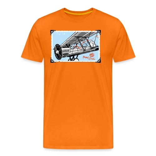 Doppeldecker - Männer Premium T-Shirt