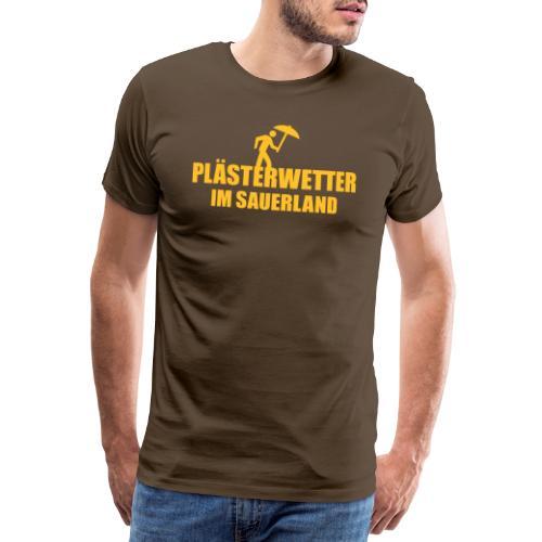 Plästerwetter - Männer Premium T-Shirt