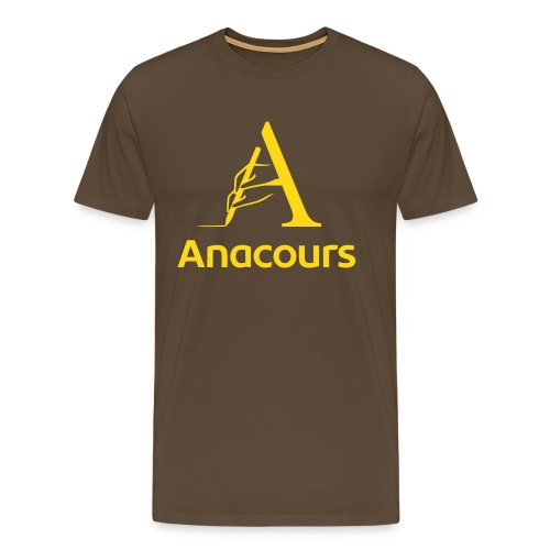 anacoursHQblank_BLK - T-shirt Premium Homme