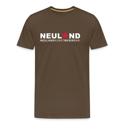 shirtlogo neuland - Männer Premium T-Shirt