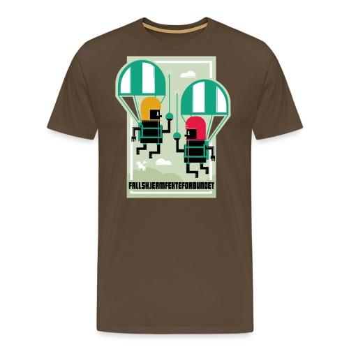 falmskjermfektingforbund - Premium T-skjorte for menn