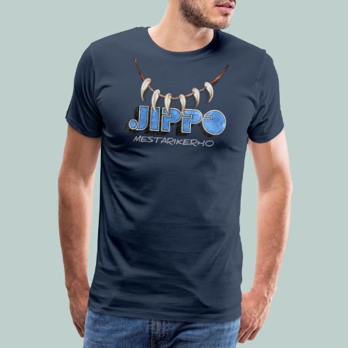 Jippomestari - Miesten premium t-paita