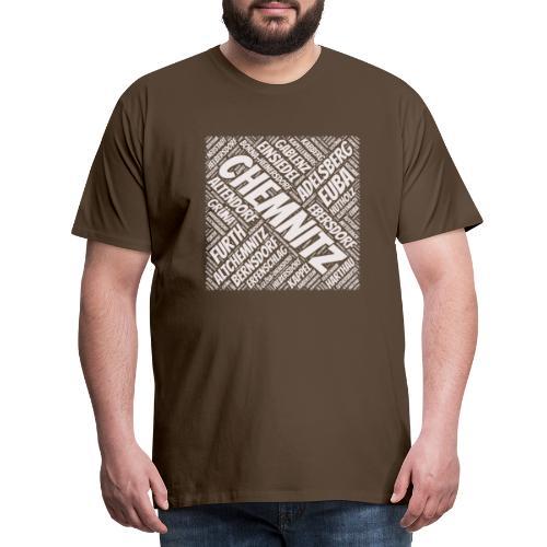 Chemnitz Stadtteile - Männer Premium T-Shirt