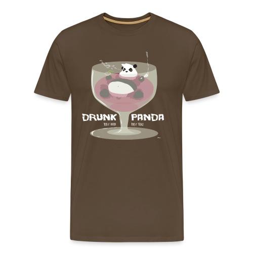Drunk Panda - T-shirt Premium Homme